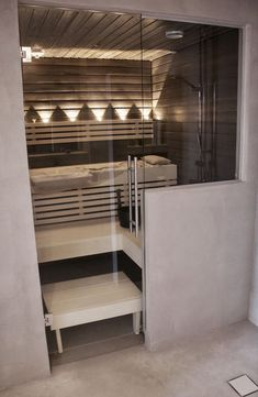 Do you want to create fabulous home sauna design ideas as your home design ideas? Creating a fabulous home sauna sounds great. In addition to making aesthetics in your home, a home sauna is very suitable for you to choose… Continue Reading → Home Sauna Kit, Sauna Kits, Sauna Ideas, Home Spa Room, Spa Rooms, Homemade Sauna, Sauna Design, Outdoor Sauna, Outdoor Decor
