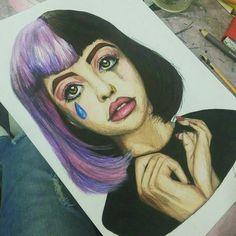Imagen de melanie martinez, art, and drawing
