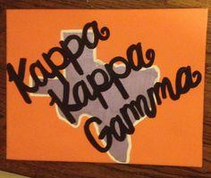 Kappa crafts for big little Big Little Week, Big Little Gifts, Kappa Kappa Gamma, Alpha Chi, Auburn, Sorority, Lamb, Crafting, College