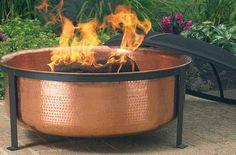Copper Fire Pit FIRE + PIT