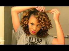 best tutorial video for bantu knot out!