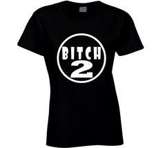 Bitch 2 Bitch 1 Sisters Best Friends Funny Fan Ladies T Shirt Best Friends Funny, Funny Tshirts, Sisters, Fan, T Shirts For Women, Mens Tops, Stuff To Buy, Fashion, Moda