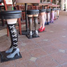 Bar stools in Palm Beach, Florida