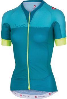 1b12e3f3b Castelli Aero Race Full-Zip Jersey - Short Sleeve - Women s Cycling Shorts