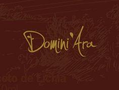 A marca Domini'Ara foi criada pela Push Publicidade.  Do italiano, Domini, que significa domínio. Ara, abreviação de Araguaí, a fazenda que cultiva a fruta e fabrica esse aceto exclusivo e único no mundo, com sabor inigualável e natural.