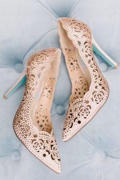 30 Wedding Shoe Photos We Can't Get Over | Brides.com
