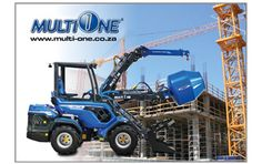 The range of MultiOne construction loaders offer the user safe, easy operation that requires no specialist training for operators. Makita, Tractors, Monster Trucks, Construction, Tools, Diy Garage, Cool Stuff, Building, Instruments