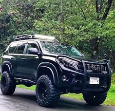 Mean Looking Toyota Prado: