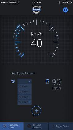 UI car app. on Behance