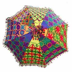 Bohemian Wedding Umbrella Parasols