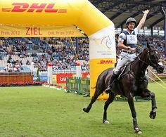 Olympic Eventing Newsflash: Australia's Chris Burton Wins Aachen Individual; Germany Takes Eventing Nation's Cup