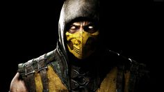 Mortal Kombat X Game Fighting Scorpion Eyes Yellow  #Eyes #Fighting #ForGamers #Game #gaming #Kombat #Mortal #Scorpion #X #Yellow