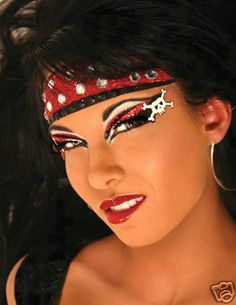 Xotic Eyes Hook Halloween Accessories Costume Female Party Pirate Girl Make Up   eBay