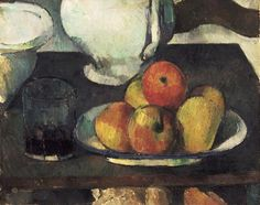 Paul Cézanne (1839-1906) Still Life with Apples and a Glass of Wine, 1877-79