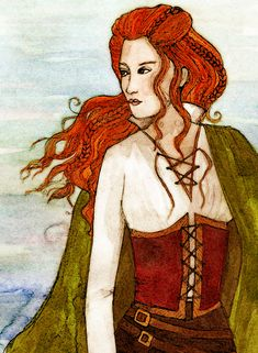 Grace O'Malley (1530 – 1603) was the called the Sea Queen of Connacht. She inherited a large shipping and trading business from her father (they were accused many times of piracy). Between this and the land passed on to her through her mother, Grace was a very wealthy woman in 16th century Ireland. In 1593, her sons and half-brother were kidnapped by the English governor of Connacht, Sir Richard Bingham, Grace sailed straight to England to petition to for their release. She made her case…
