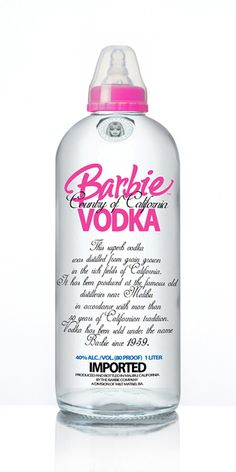 Barbie Vodka