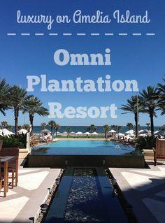 Luxury on Amelia Island: a stay at the Omni Plantation Resort