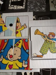 Puzzels thema circus (peuters)