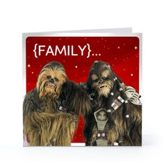 Hallmark Valentine Birthday Cards. Chewbacca Amp Wookiee Family  Valentines Day Greeting Card  Hallmark