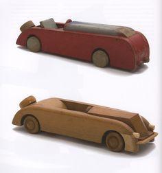 Kay Bojesen, auto's, hout