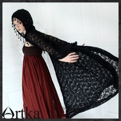 Beautiful lace cape <3