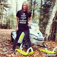 There is nothing better than sleds and chicks. #Snowmobiling #WinterisComing http://www.reflexsnowmobiling.com/snowmobiling-blog/entry/sled-chicks-vol-1-21-photos-1