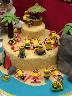 Minions cake - Hey Little Cupcake