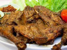 Resep ayam bekakak khas sunda (ayam bakar bumbu santan pedas manis) dan cara memasak ayam bekakak bakar lengkap olahan ayam bakakak santan dan ayam ungkep ,
