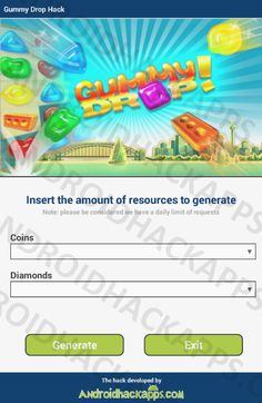 So hurry up and download Gummy Drop Hack tool totally free and safe