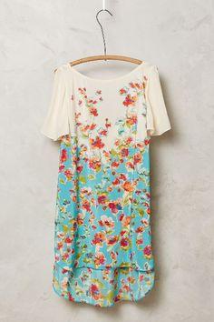 Ludovica Silk Tunic - anthropologie.com--beautiful fabric
