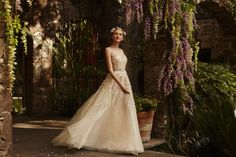 BHLDN Spring 2015 Bridal Collection – The Painted Garden - Belle The Magazine