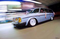 Justin's Volvo