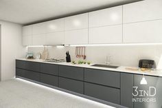 Kitchen Cupboard Designs, Grey Kitchen Designs, Luxury Kitchen Design, Kitchen Room Design, Contemporary Kitchen Design, Home Decor Kitchen, Interior Design Kitchen, Kitchen Modular, Modern Kitchen Interiors