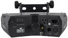 Chauvet Mega Trix Lightweight DMX DJ LED Effect Lighting Light With Sound-Activation and Internal Mounting Bracket by Chauvet. $159.99. Chauvet Mega Trix Lightweight DMX DJ LED Effect Lighting Light With Sound-Activation and Internal Mounting Bracket  Features      Lightweight, animated DMX effect light that covers a large area     Animations flow from pod to pod creating a very unique look with no moving parts     Super-crisp optics create dazzling mid-air effects and sharp be...