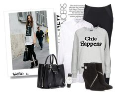 """""""Chic Happens - Street Style"""" by hattie4palmerstone ❤ liked on Polyvore"""