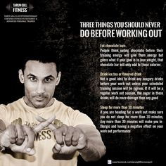 Three things you should never do before working out  These are mistakes which i made and i dont want you to #fitnessmistakes #workout #beforeworkout #fitnessexpert