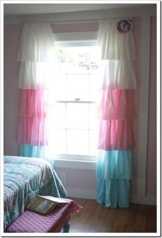 The Shabby Creek Cottage | Decorating | Craft Ideas | DIY: A pink girl's bedroom