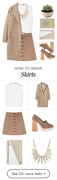 """""""Untitled #1797"""" by tacoxcat on Polyvore featuring Topshop, Glamorous, Paloma Barceló, Gemma Simone, Smythson and Cacharel"""
