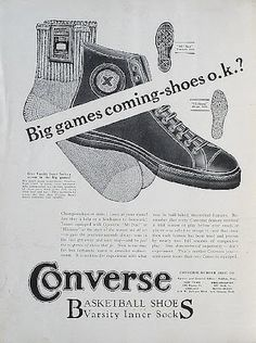 b80a6319faf The Converse All-Star Was First Introduced in 1917 - 50 Things You Didn t  Know About Converse Chuck Taylor All Stars