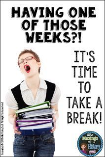 Tuesday's Tip: Take a Break! - History Gal