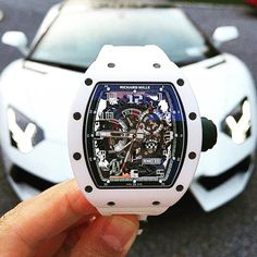 Richard Mille or Lamborghini? Choose and tag a friend! Amazing Watches, Beautiful Watches, Cool Watches, Rolex Watches, Richard Mille, Stylish Watches, Luxury Watches For Men, Skeleton Watches, Popular Watches