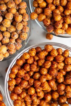Appetizer Recipes Discover Air Fryer Chickpeas Flavors) Make Crispy Chickpeas each and every time in the Air Fryer! These Air Fried Chickpeas are the perfect snack. Ive provided 4 different flavor combinations to get you started. Air Fryer Recipes Breakfast, Air Fryer Dinner Recipes, Air Fryer Oven Recipes, Appetizer Recipes, Air Fryer Recipes Videos, Snack Mix Recipes, Indian Appetizers, Vegan Appetizers, Indian Snacks