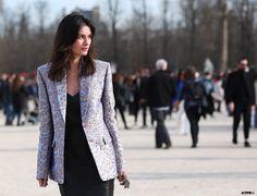 tres elegant. #LeilaYavari in Paris.