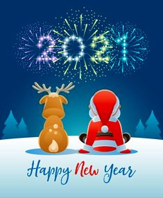 New Years Eve Quotes, Happy New Years Eve, Happy New Year Wishes, Happy New Year Greetings, Happy New Year 2020, Christmas Scenes, Christmas And New Year, New Year Typography, Smileys