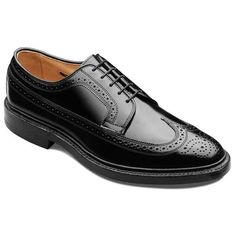 MacNeil - Wingtip Lace-up Oxford Mens Dress Shoes by Allen Edmonds Size 10 D Penny Loafers, Loafers Men, Brogues, Lace Up Shoes, Dress Shoes, Mens Derby Shoes, Shoes Men, Gents Shoes, Allen Edmonds Shoes