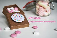 In unserem Blog finden Sie viele DIY Ideen zu Gastgeschenken für Hochzeitsgäste!