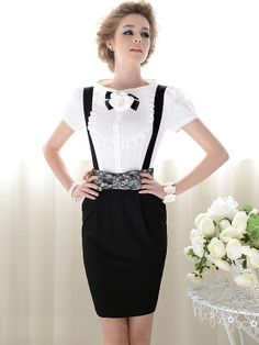 Morpheus Boutique  - White Vintage Style Ruffle Cap Sleeve Chiffon Bow Shirt, CA$61.53 (http://www.morpheusboutique.com/white-vintage-style-ruffle-cap-sleeve-chiffon-bow-shirt/)