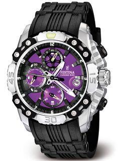 Festina Chrono Bike Tour de France 2011 Watch Purple