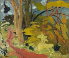 Woodland Path by William Gillies