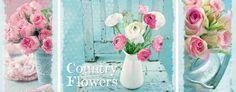 Puzzle Ravensburger La Magia de las Flores, Tríptico de 1000 Pie